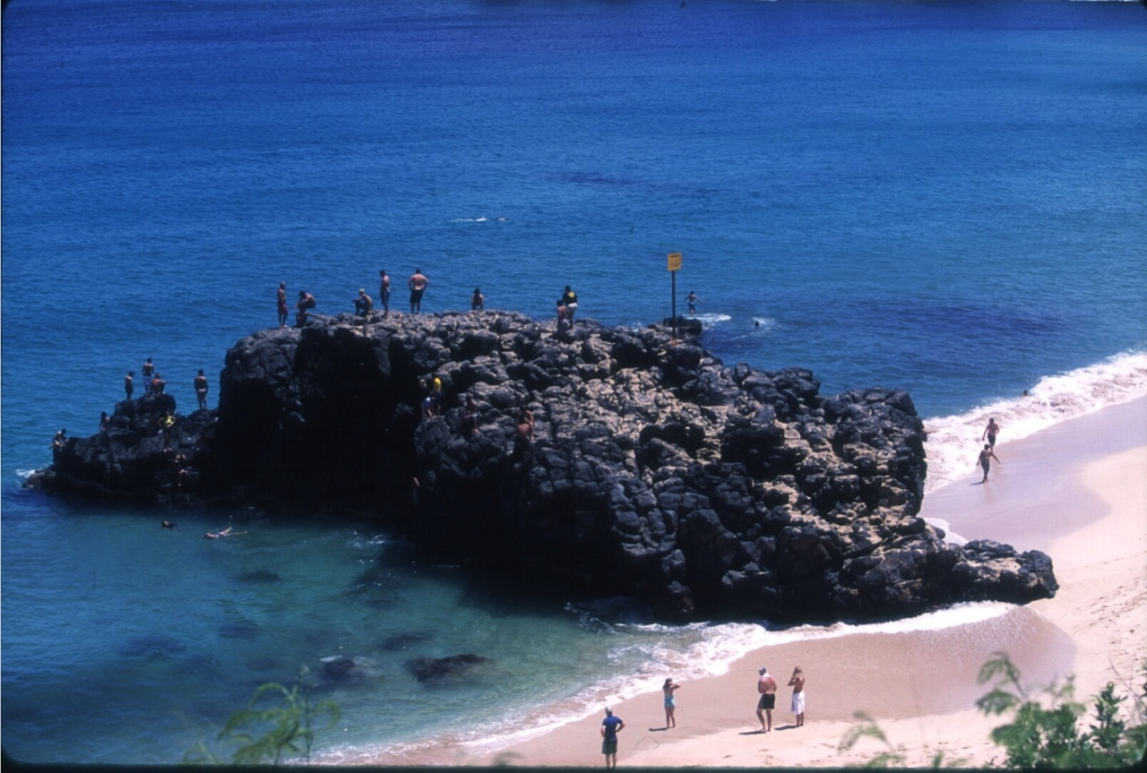 Jump rock-Waimea